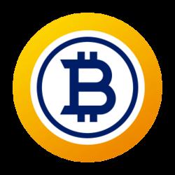Bitcoin Gold icon.