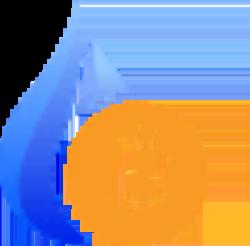 Huobi BTC icon.